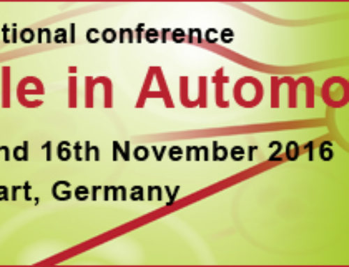 Applied SAFe @ Agile in Automotive Conference, 15th and 16th November 2016, Stuttgart, Germany, Le Meridien