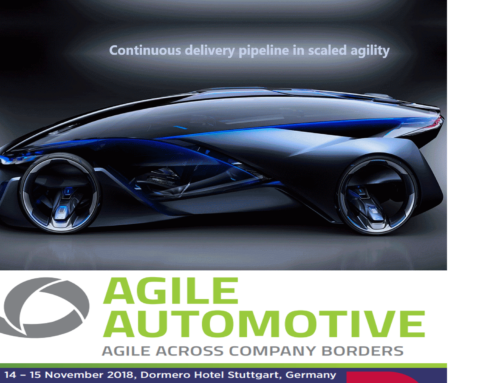 Agile in Automotive 2018