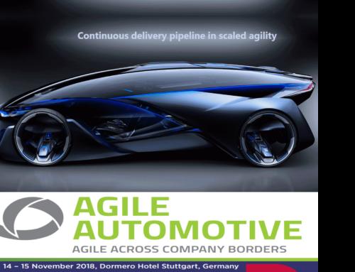 Agile in Automotive 2018