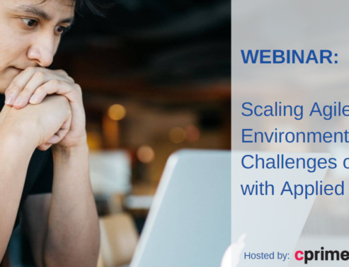 Public Webinar: Scaling Agile in Regulated Environments