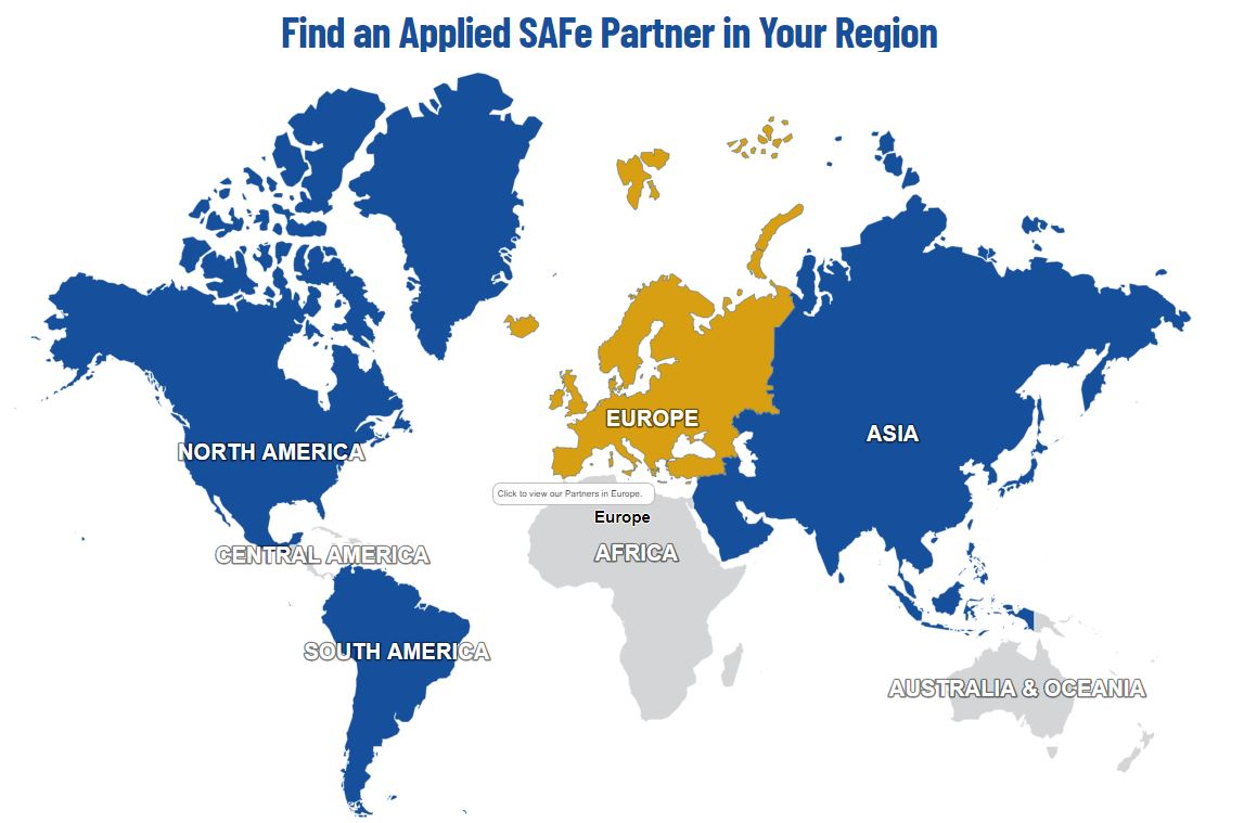 Cropped Partner directory map