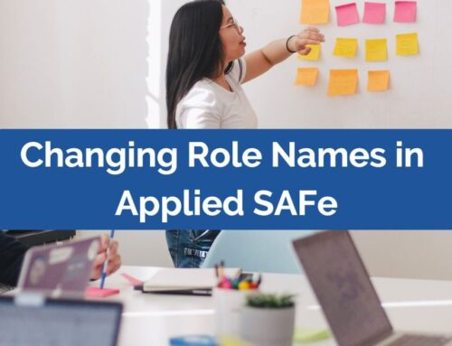 Changing Role Names in Applied SAFe