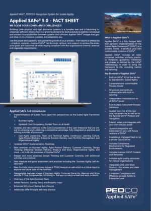 Applied SAFe Factsheet Download