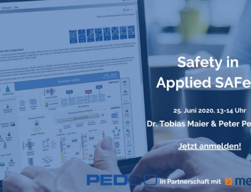 Public Webinar: Safety in Applied SAFe (German)