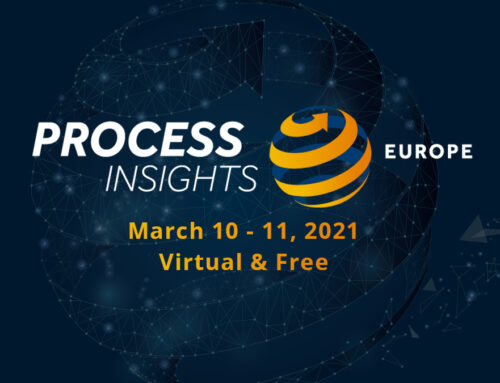 Process Insights Europe 2021: Processes for the New Normal