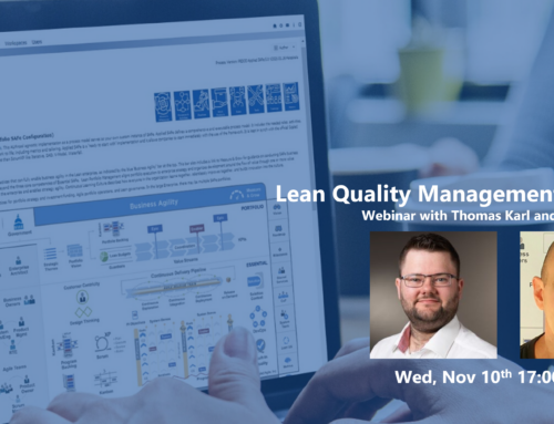 Lean Quality Management and SAFe