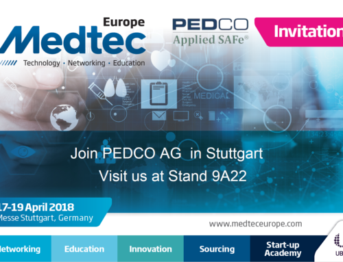 Applied SAFe at MedTec Europe 2018 in Stuttgart, Germany